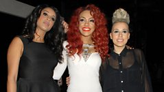 Stooshe chat to Sir Terry Wogan