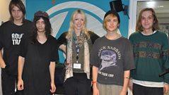 Diiv join Lauren Laverne in the studio