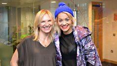 Jo Whiley chats to Rita Ora