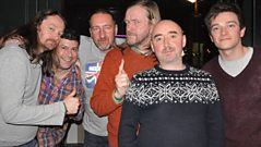 BMX Bandits join Marc Riley in the studio