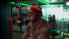 Tinie Tempah meets his musical hero
