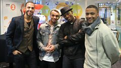 JLS chat to Steve Wright