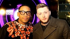 James Arthur is No. 1