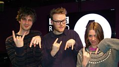 Wolf Alice are in session for Huw