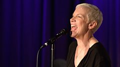 Annie Lennox in session for Jo Whiley
