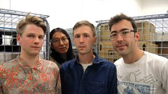 Teleman in session for Marc Riley