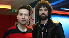 Serge from Kasabian chats to Grimmy