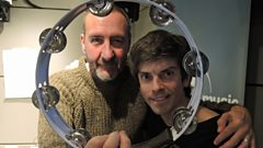 Euros Childs in session for Marc Riley