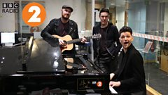 The Script perform a beautiful acoustic cover of Drive by The Cars