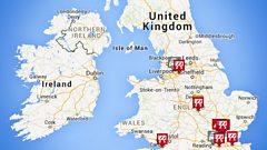 BBC Travel map