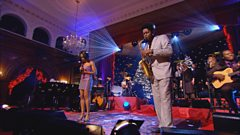 Beverley Knight and Soweto Kinch perform Silent Night at Soul Noel