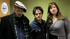 Dr John and Sarah Morrow in conversation with Jamie Cullum