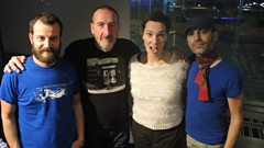 Laetitia Sadier in session for Marc Riley