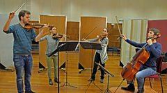 The Armida Quartet plays Bach