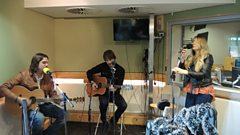 Zervas and Pepper live in session