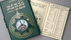 Muslim prayer compass