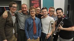 Public Service Broadcasting in session for Marc Riley