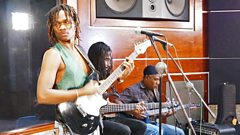 Raging Fyah in session at Anchor Studios