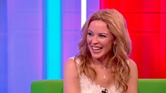 Chris Evans quizzes Kylie Minogue on her famous Hot Pants!