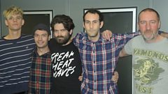 Viet Cong in session for Marc Riley