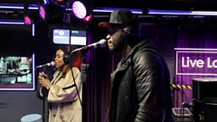 Lethal Bizzle in the 1Xtra Live Lounge