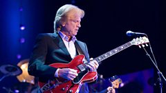 Justin Hayward is inducted in to Michael Ball's Singers Hall of Fame