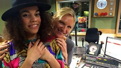 Andreya Triana in Session for Jo Whiley