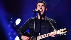 Nick Jonas chats to Scott Mills