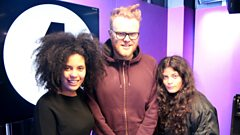 Ibeyi in session