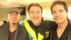 Train chat to Jonathan Ross