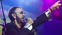 Ringo Starr speaks to Simon Mayo