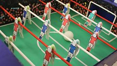Blue Peter's table football game