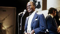 Louis Armstrong is inducted in to Michael Ball's Singers Hall of Fame