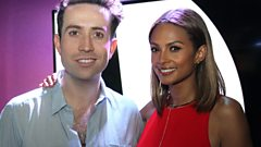 Alesha Dixon begs Gary Barlow to let her join Take That