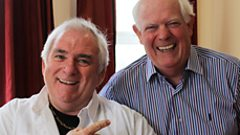 Hugo Duncan and Brendan Shine