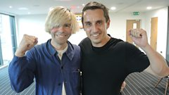 Chris meets Gary Neville and Tim Burgess