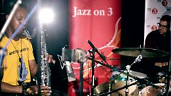 Mark Guiliana, Chris Morrissey and Shabaka Hutchings in session