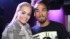 Rita Ora chats X Factor and her new single with Chris Brown