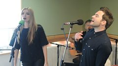 Shane Filan and Nadine Coyle Live in Session