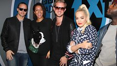 Rita Ora and Sigma drop by with their new single