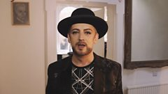 """Boy George: """"My Favourite Song Ever Is..."""""""