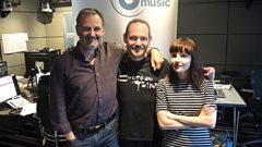 Lauren and Iain from Scottish band Chvrches join Mark