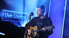 Shawn Mendes sings Stitches in the Radio 1 Live Lounge