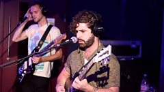 Foals live in Saturday Session