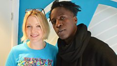 Saul Williams live in session for Lauren Laverne