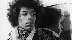 BBC 6 Music Breakfast takes a trip around Jimi Hendrix's house