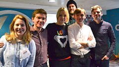 Field Music in session for Lauren Laverne