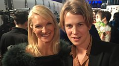 Tom Odell at The Brits 2016