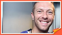 """Chris Martin at The Brits: """"I'm so happy All Saints are back!"""""""