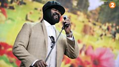 "Gregory Porter: ""Don't lose your steam boy"""